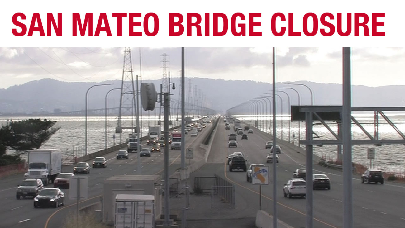 San Mateo Bridge closure