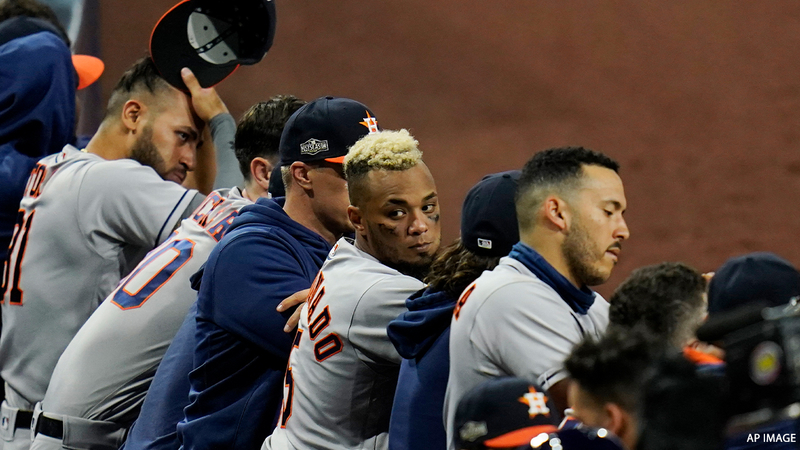 Houston Astros Fall To Tampa Bay Rays In Game 1 Of Alcs Abc13 Houston