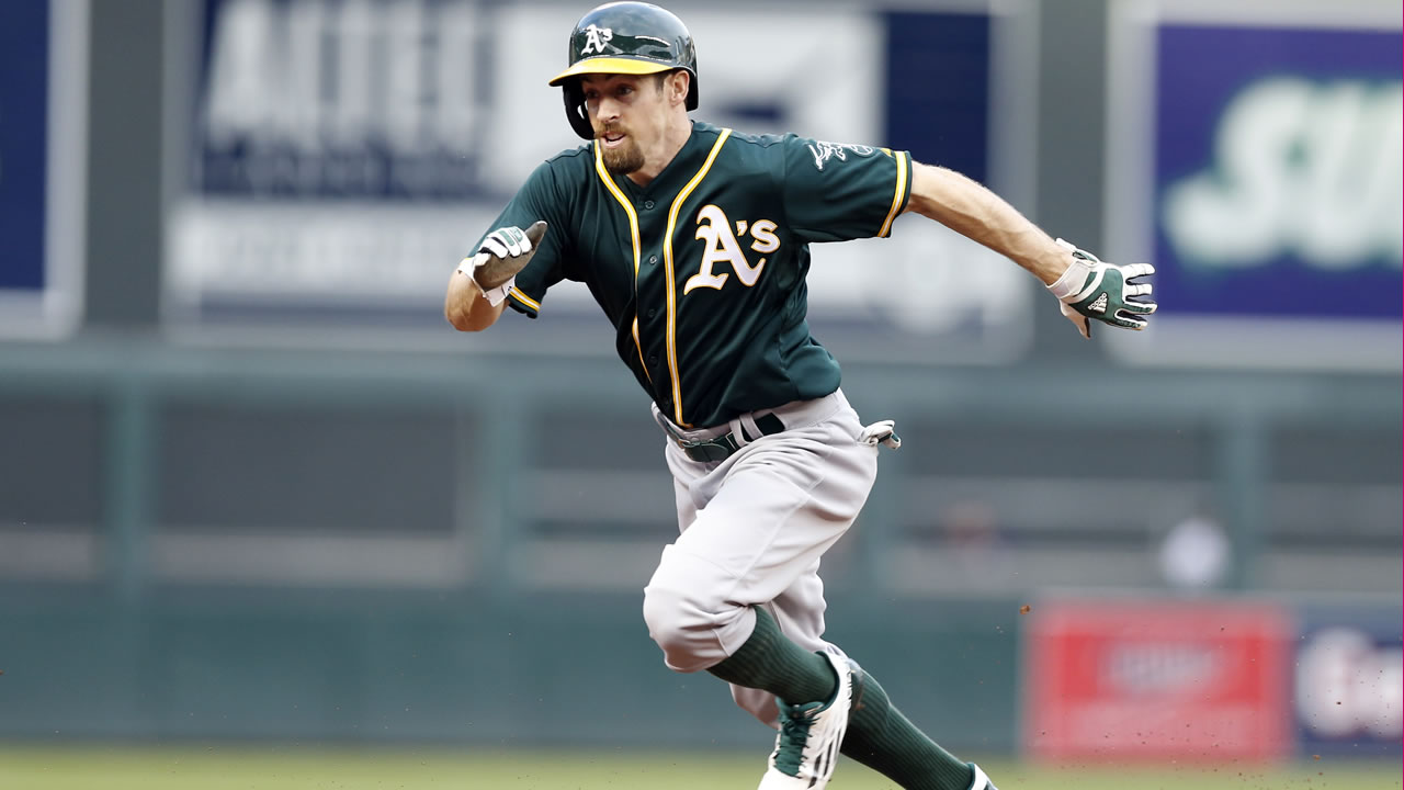 Oakland Athletics' Billy Burns