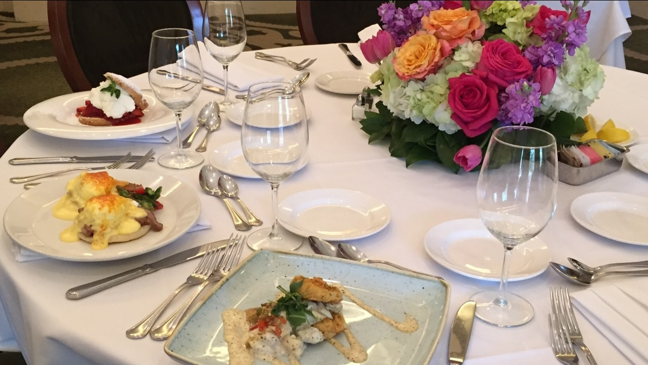 The Mother's Day spread at Brennan's of Houston