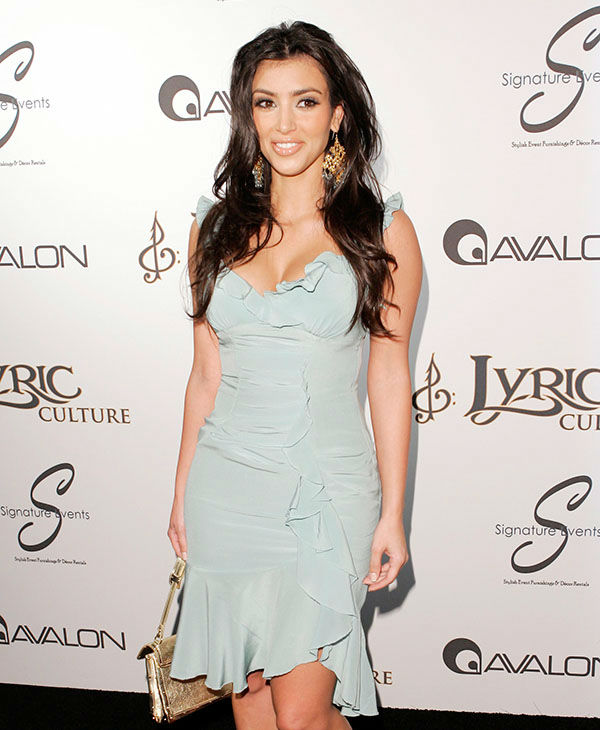 """<div class=""""meta image-caption""""><div class=""""origin-logo origin-image none""""><span>none</span></div><span class=""""caption-text"""">Kim Kardashian at the Lyric Culture launch party and fashion show, Thursday night, May 10, 2007, in Los Angeles. (AP)</span></div>"""