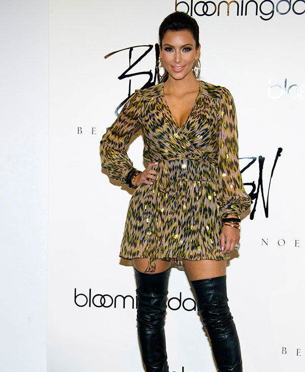 """<div class=""""meta image-caption""""><div class=""""origin-logo origin-image none""""><span>none</span></div><span class=""""caption-text"""">Kim Kardashian appears at Bloomingdale's to promote her Belle Noel jewelry line, in New York, Wednesday, Sept. 21, 2011. (AP)</span></div>"""