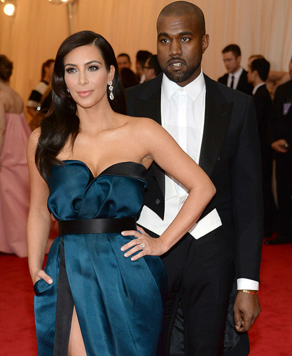 """<div class=""""meta image-caption""""><div class=""""origin-logo origin-image none""""><span>none</span></div><span class=""""caption-text"""">Kim Kardashian and Kanye West attend The Metropolitan Museum of Art's Costume Institute benefit gala on Monday, May 5, 2014, in New York. (AP)</span></div>"""