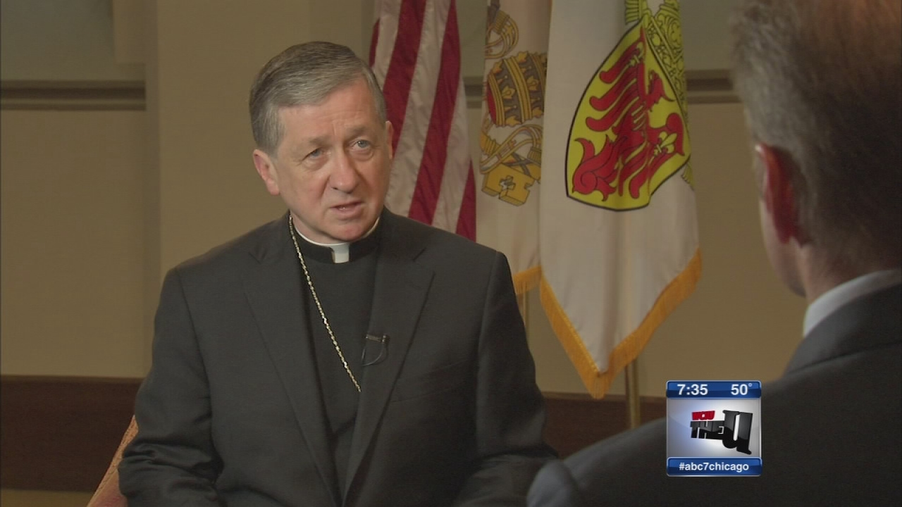Cupich on Pope Francis, IL financial crisis