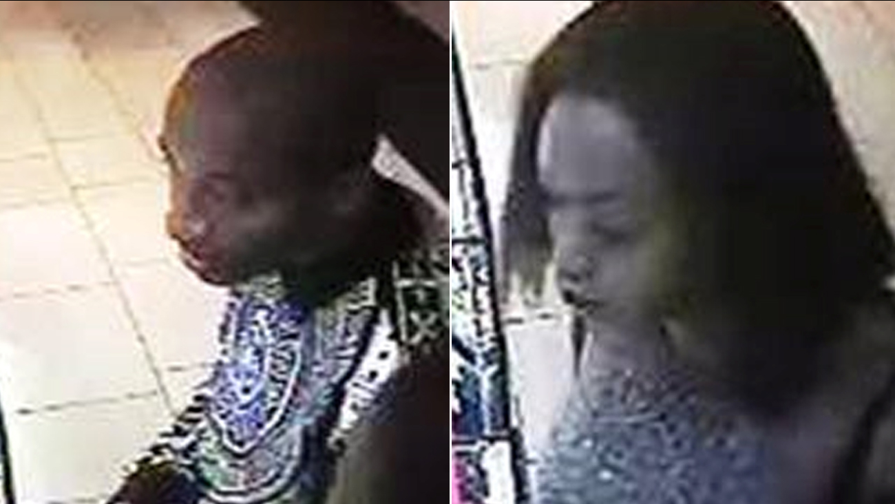 Fresno police are looking for two suspects in a jewelry theft at Fashion Fair Mall.