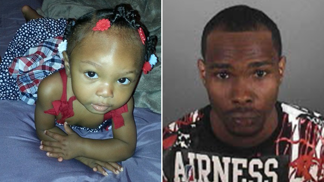 Randy Green allegedly took his 14-month-old daughter Raniyah Green from her grandmother's Leimert Park home on Tuesday, May 5, 2015.