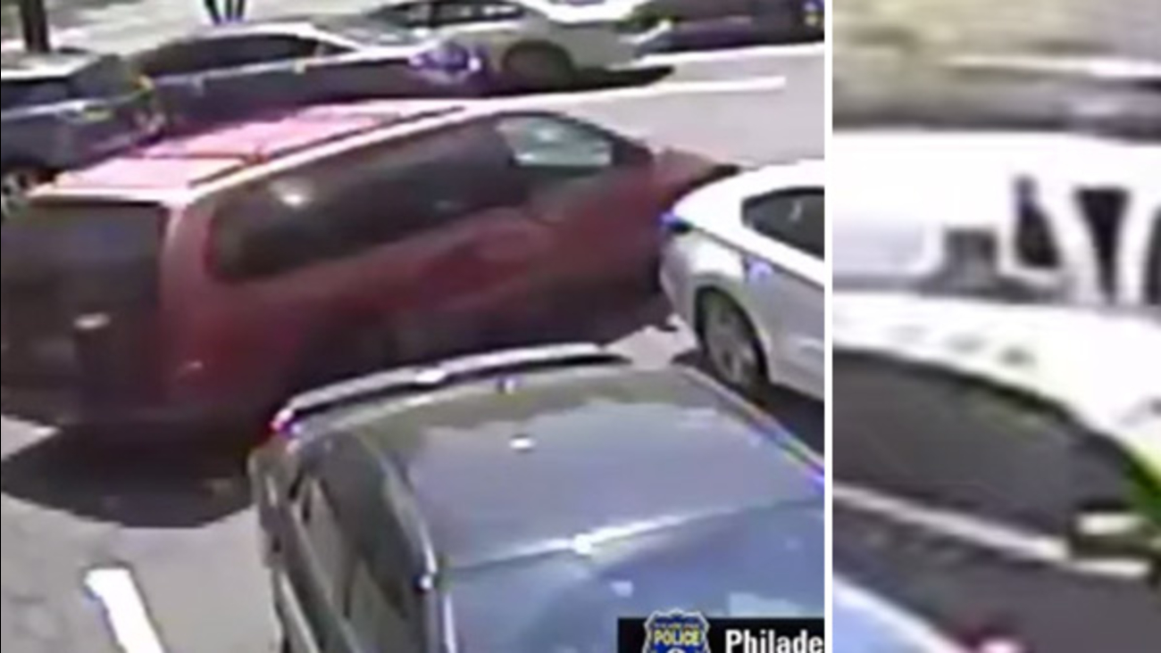 Theft from delivery van at Rite Aid