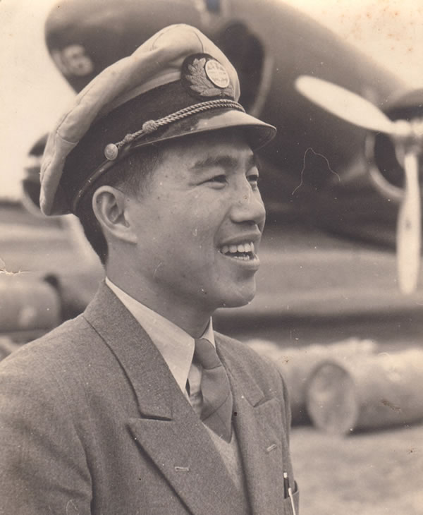 "<div class=""meta image-caption""><div class=""origin-logo origin-image ""><span></span></div><span class=""caption-text"">Belmont resident Moon Chin is a former military officer and one of the most decorated civilian pilots by the US military. During WWII, Chin rescued many U.S. military personnel.</span></div>"
