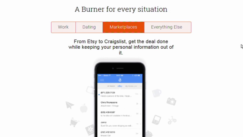 Burner app provides privacy with disposable phone numbers