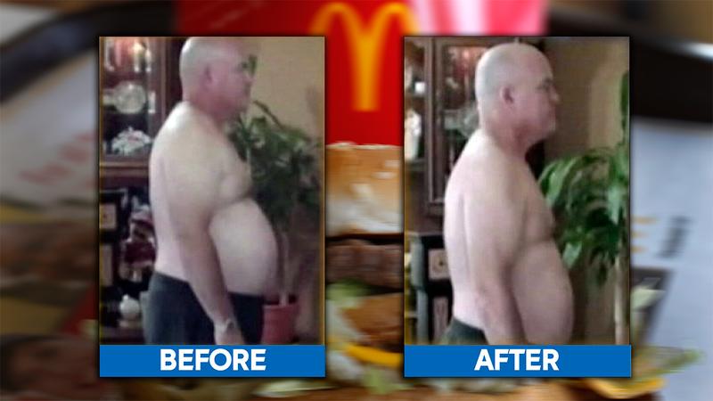 McDonald's only diet