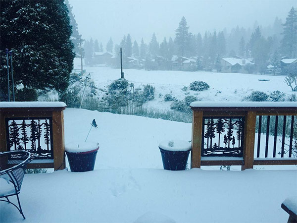 """<div class=""""meta image-caption""""><div class=""""origin-logo origin-image kabc""""><span>KABC</span></div><span class=""""caption-text"""">ABC7 viewer Bryan Dilbeck shared this photo on Twitter of snow in Big Bear on Friday, May 8, 2015. (ABC7 viewer Bryan Dilbeck)</span></div>"""