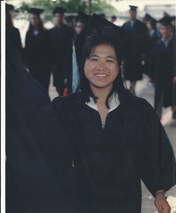 "<div class=""meta image-caption""><div class=""origin-logo origin-image none""><span>none</span></div><span class=""caption-text"">Vicky get's her Bachelors Degree in 1995 (KFSN Photo/ Vicky Xiong-Lor)</span></div>"