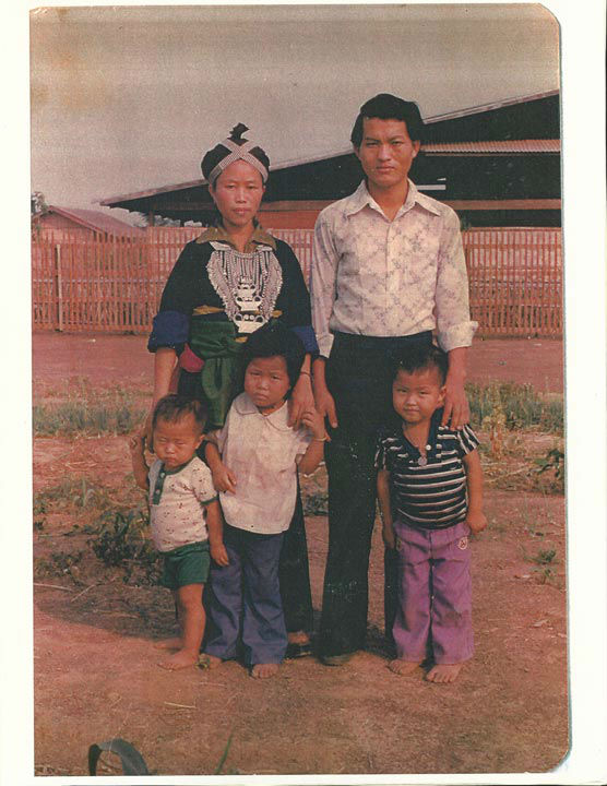 "<div class=""meta image-caption""><div class=""origin-logo origin-image none""><span>none</span></div><span class=""caption-text"">Vicky's family in Laos (KFSN Photo/ Vicky Xiong-Lor)</span></div>"