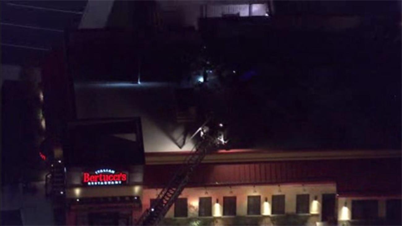 Flames damage Montco restaurant