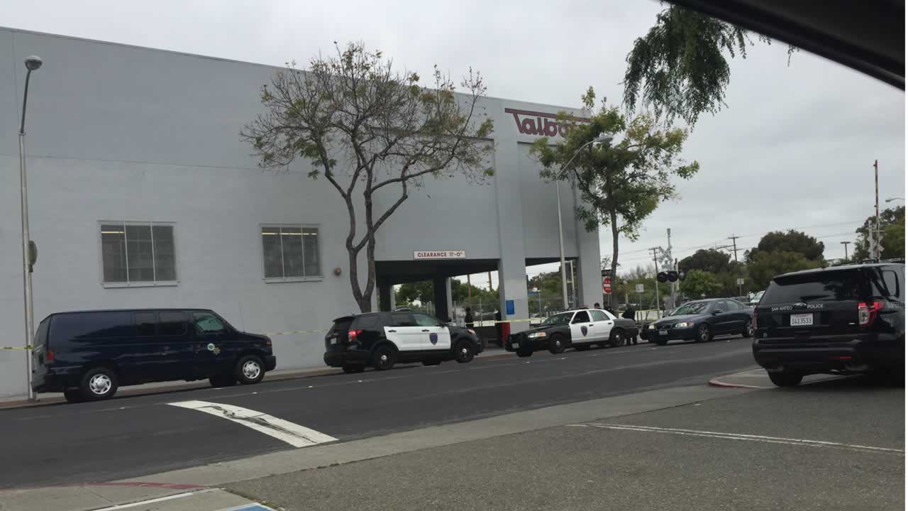 A 55-year-old man was found dead in a San Mateo, Calif. toy store parking lot on Saturday, May 9, 2015.