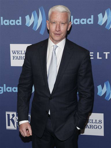 """<div class=""""meta image-caption""""><div class=""""origin-logo origin-image none""""><span>none</span></div><span class=""""caption-text"""">Anderson Cooper attends the 26th Annual GLAAD Media Awards at the Waldorf Astoria on Saturday, May 9, 2015, in New York. (Photo by Andy Kropa/Invision/AP) (Photo/Andy Kropa)</span></div>"""