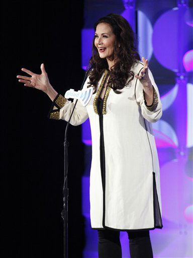 """<div class=""""meta image-caption""""><div class=""""origin-logo origin-image none""""><span>none</span></div><span class=""""caption-text"""">Lynda Carter attends the 26th Annual GLAAD Media Awards at the Waldorf Astoria on Saturday, May 9, 2015, in New York. (Photo by Andy Kropa/Invision/AP) (Photo/Andy Kropa)</span></div>"""