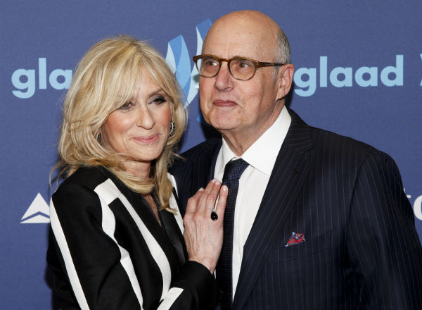 """<div class=""""meta image-caption""""><div class=""""origin-logo origin-image none""""><span>none</span></div><span class=""""caption-text"""">Judith Light, left, and Jeffrey Tambor, right, attend the 26th Annual GLAAD Media Awards. (Photo by Andy Kropa/Invision/AP) (Photo/Andy Kropa)</span></div>"""