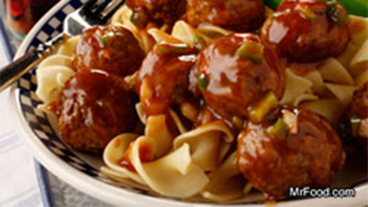 Cola Meatballs recipe