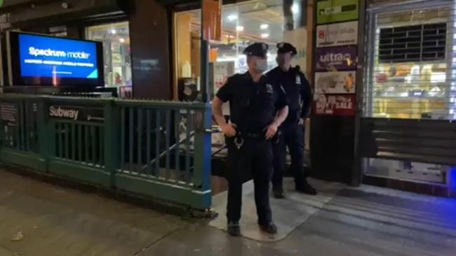 violent pelham parkway subway station mugging caught on