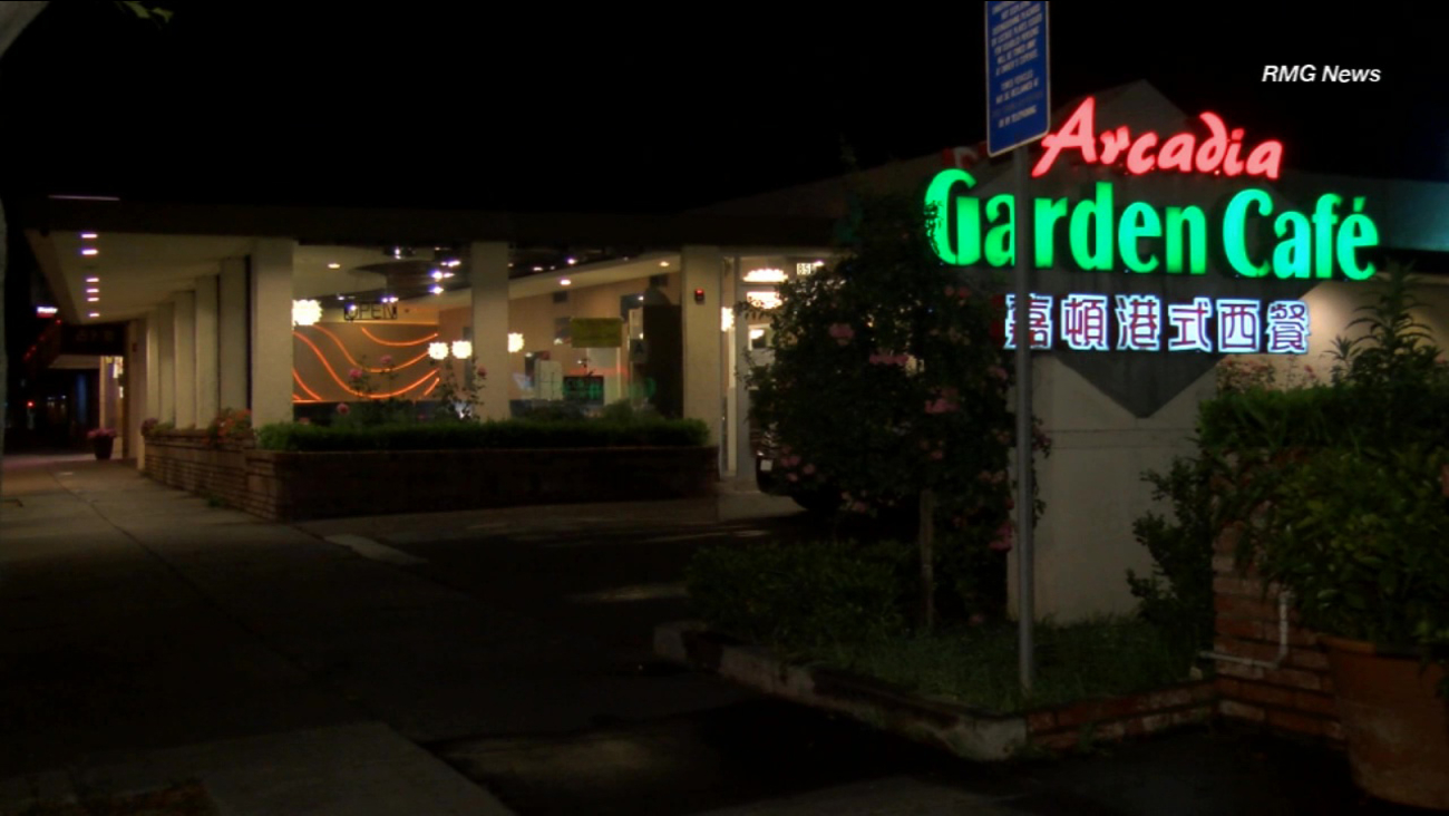 Suspect sought in armed robbery of Arcadia cafe over the weekend