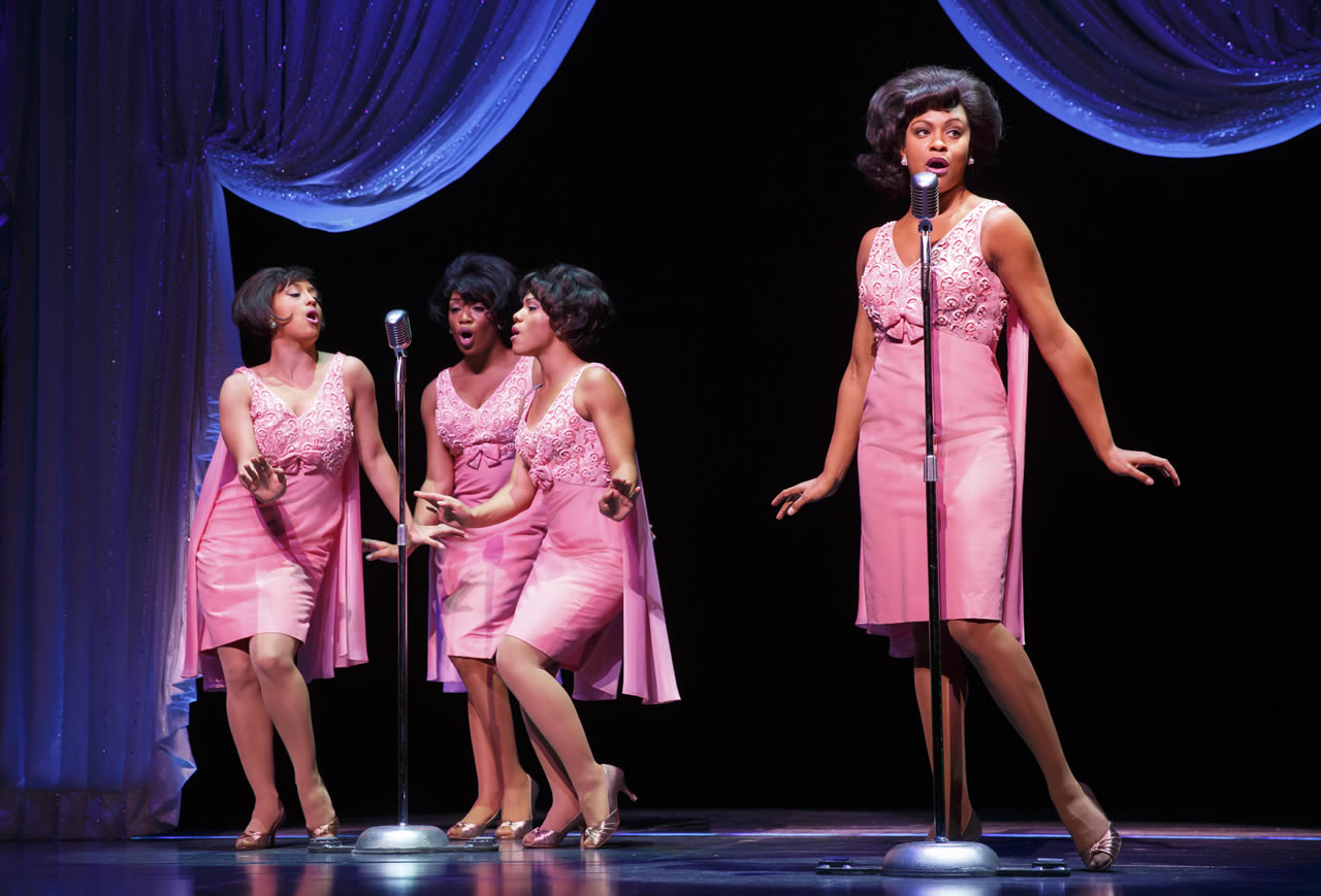 "<div class=""meta image-caption""><div class=""origin-logo origin-image none""><span>none</span></div><span class=""caption-text"">The Shirelles (Ashley Blanchet, Rashidra Scott, Alysha Deslorieux, and Carly Hughes) in ""Beautiful: The Carole King Musical"" - Original Broadway Cast. (Joan Marcus)</span></div>"