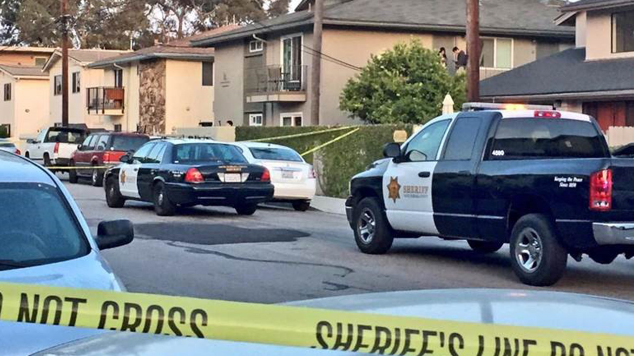 Authorities respond to a shooting in the 6500 block of Sabado Tarde Road in Isla Vista on Monday, May 11, 2015.