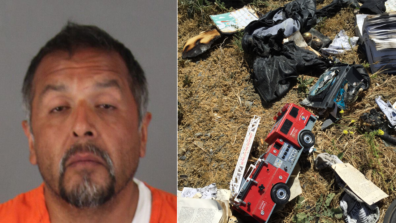 Nicolas Lopez Garcia, 44, was arrested on suspicion of attempted murder, assault with a deadly weapon and resisting arrest on Monday, May 11, 2015.