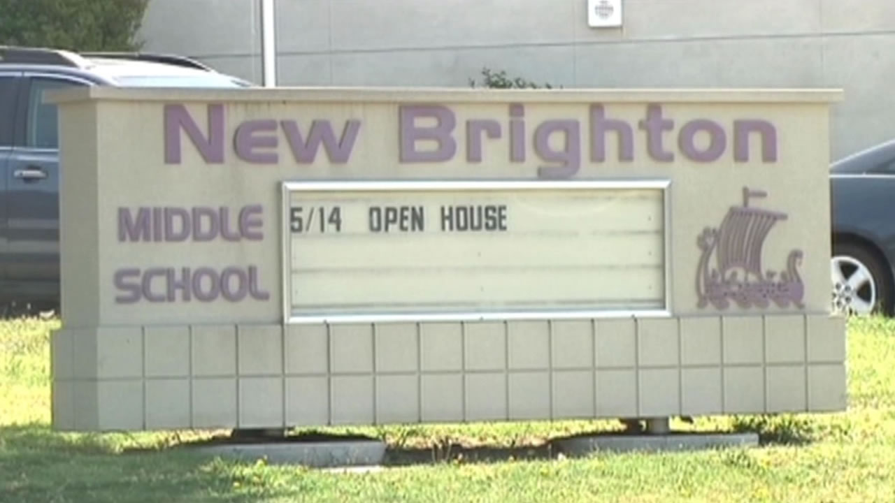 Five seventh-graders at New Brighton Middle School in Capitola are facing felony charges for allegedly making threats on social media on Saturday, May 9, 2015.
