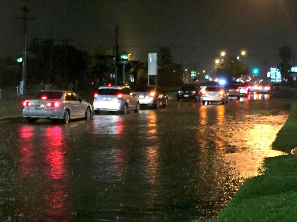 """<div class=""""meta image-caption""""><div class=""""origin-logo origin-image none""""><span>none</span></div><span class=""""caption-text"""">Houston Transtar is reporting a number of high water locations on Houston area freeways this morning. (KTRK Photo)</span></div>"""