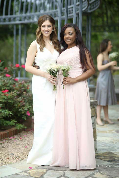 "<div class=""meta image-caption""><div class=""origin-logo origin-image none""><span>none</span></div><span class=""caption-text"">Thrift store blog Too Cheap Blondes found all of these dresses for $2 each at Houston-area Family Thrift Outlet stores. (KTRK Photo/ Quy Tran Photography)</span></div>"