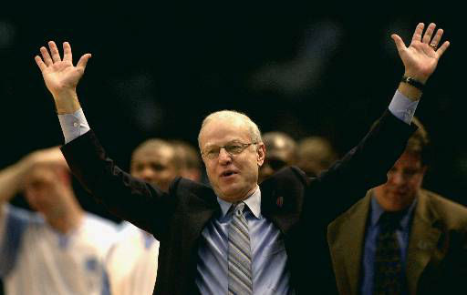 "<div class=""meta image-caption""><div class=""origin-logo origin-image none""><span>none</span></div><span class=""caption-text"">UNC coach Bill Guthridge reacts to play against Missouri Friday, March 17, 2000. (AP Photo/ DAVE MARTIN)</span></div>"