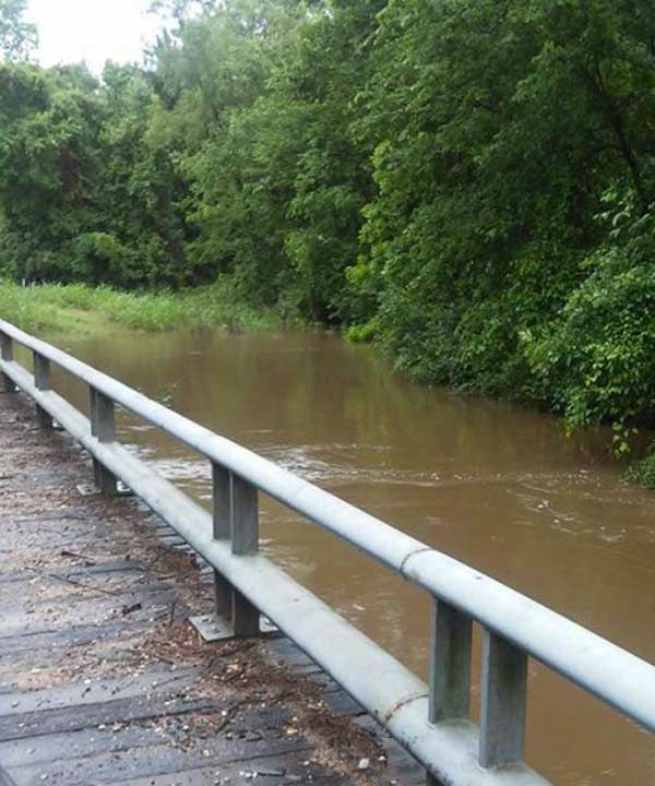 """<div class=""""meta image-caption""""><div class=""""origin-logo origin-image none""""><span>none</span></div><span class=""""caption-text"""">High water in Caney Creek at Milmac, May 13, 2015. If you have any photos, email to news@abc13.com or upload using #abc13Eyewitness (iWitness Photo)</span></div>"""