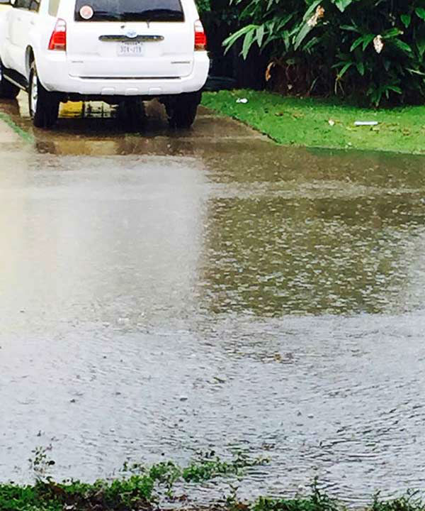 """<div class=""""meta image-caption""""><div class=""""origin-logo origin-image none""""><span>none</span></div><span class=""""caption-text"""">Flooding in Bacliff, Texas on May 13, 2015. If you have any photos, email to news@abc13.com or upload using #abc13Eyewitness (iWitness Photo)</span></div>"""