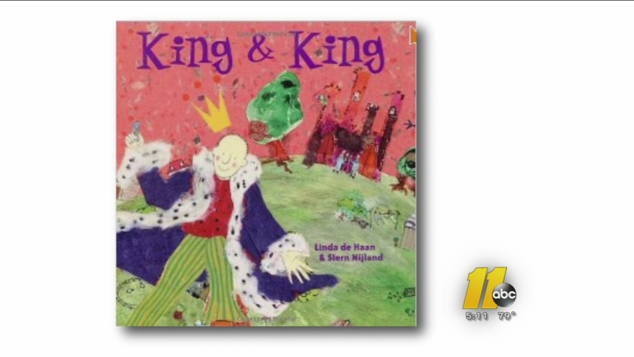 """King & King,""  is a story of two princes who fall in love and get married."