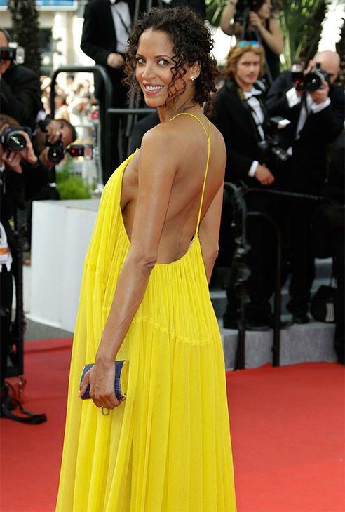 """<div class=""""meta image-caption""""><div class=""""origin-logo origin-image none""""><span>none</span></div><span class=""""caption-text"""">Noemie Lenoir arrives for the opening ceremony and screening of the film La Tete en Haut (Standing Tall) at the Cannes 68th international film festival in France May 13, 2015. (Photo/AP)</span></div>"""