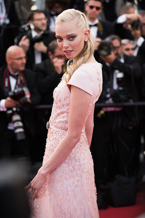"""<div class=""""meta image-caption""""><div class=""""origin-logo origin-image none""""><span>none</span></div><span class=""""caption-text"""">Tanya Dziahileva arrives for the opening ceremony and screening of the film La Tete en Haut (Standing Tall) at the Cannes 68th international film festival in France May 13, 2015. (Photo/AP)</span></div>"""