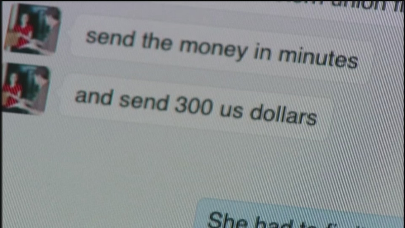 Woman falls victim to Facebook scam