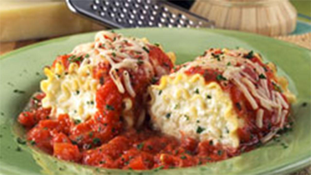 Lasagna Rollups recipe