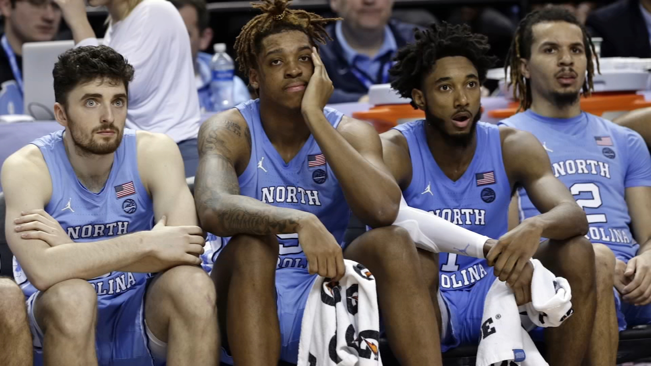 Andrew Platek North Carolina Basketball Jersey - Black