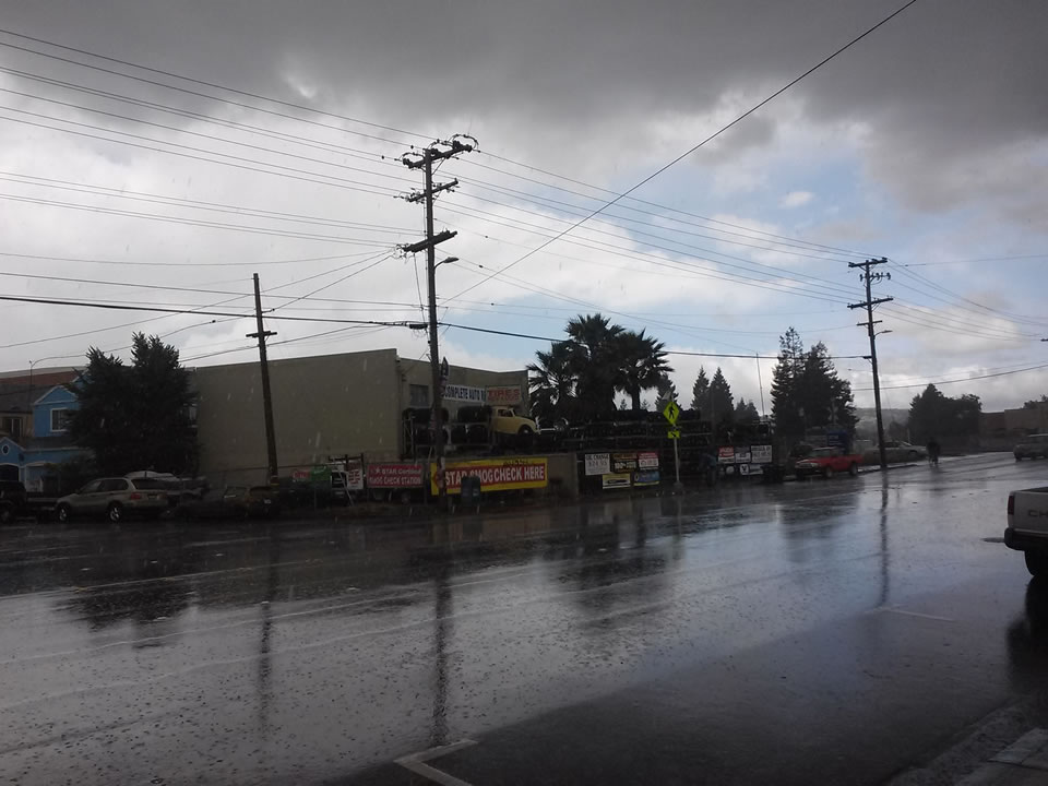 """<div class=""""meta image-caption""""><div class=""""origin-logo origin-image none""""><span>none</span></div><span class=""""caption-text"""">The rain poured down in Redwood City, Calif. on May 14, 2015. (Photo submitted by River R./Facebook)</span></div>"""