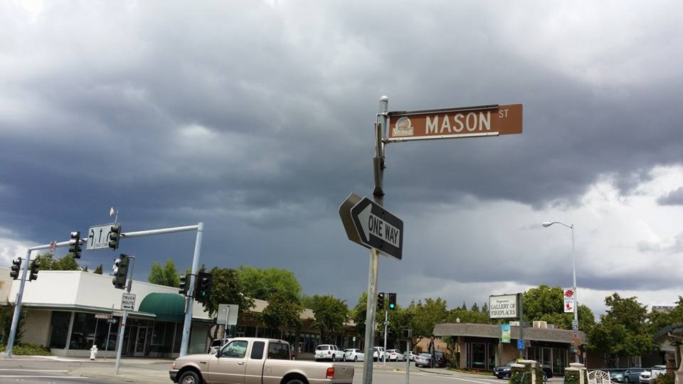 """<div class=""""meta image-caption""""><div class=""""origin-logo origin-image none""""><span>none</span></div><span class=""""caption-text"""">Thunder was heard as dark clouds loomed overhead in Vacaville, Calif. on May 14, 2015. (Photo submitted by Val O/Facebook)</span></div>"""