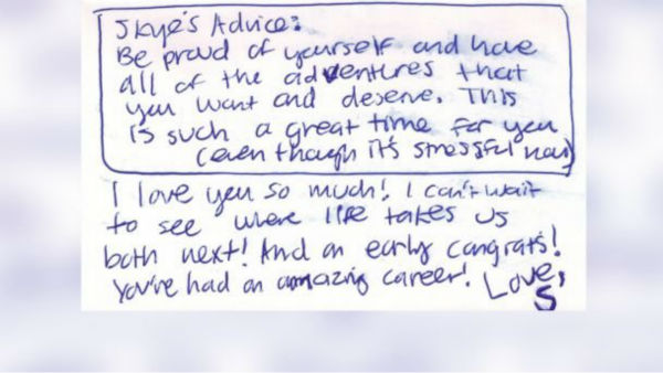 """<div class=""""meta image-caption""""><div class=""""origin-logo origin-image none""""><span>none</span></div><span class=""""caption-text"""">Daughter Makes Thesis Project 11 Years Later Out of Inspiring Lunchbox Notes From Her Mom (ABCNews Photo/ ABC News)</span></div>"""