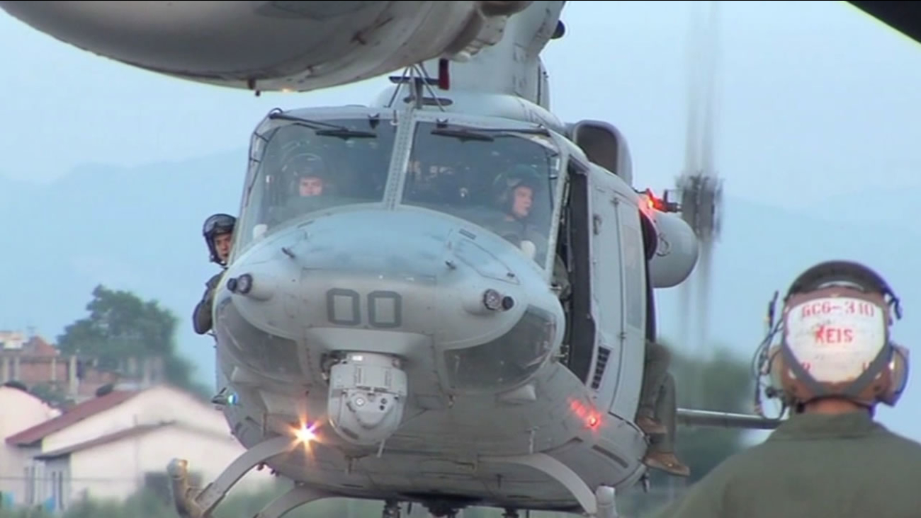 U.S. Military helicopter