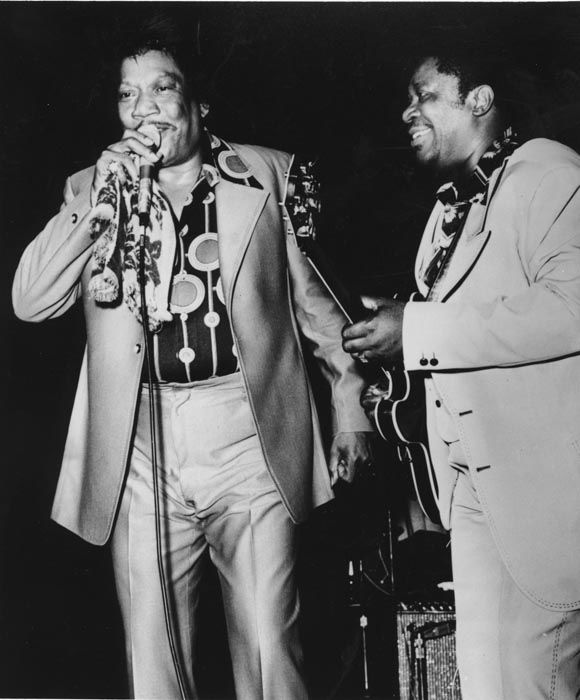 """<div class=""""meta image-caption""""><div class=""""origin-logo origin-image none""""><span>none</span></div><span class=""""caption-text"""">This is a photo of Bobby Bland and B.B. King performing in November, 1982. (AP Photo/ XNBG AD)</span></div>"""