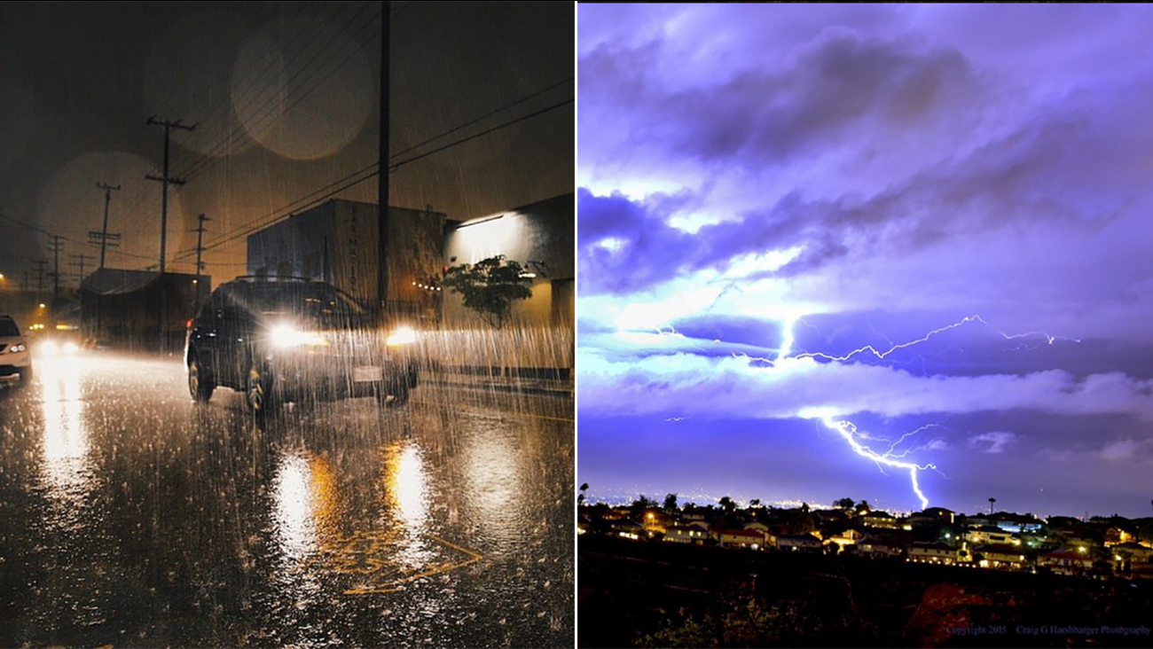 Thanks @popscure and Craig G Harshbarger for the great storm photos!