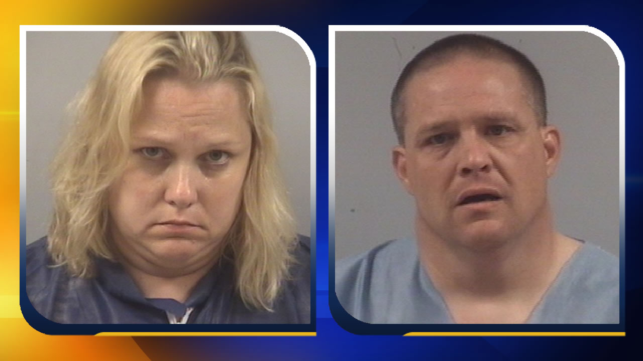 Lori Riley Whitley and her husband Gary Nelson Whitley Jr. (images courtesy Johnston County Sheriff's Office)