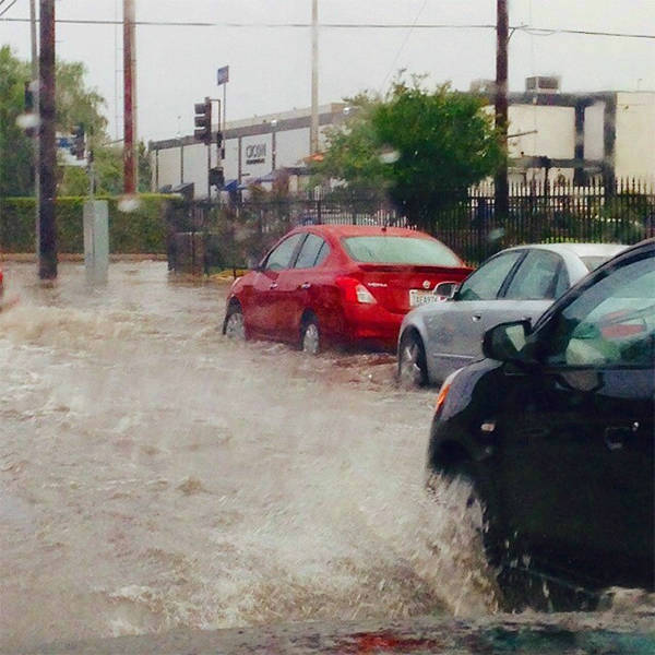 """<div class=""""meta image-caption""""><div class=""""origin-logo origin-image none""""><span>none</span></div><span class=""""caption-text"""">ABC7 viewer @budamybuda shared this photo on Instagram of flooding in Chatsworth. (KABC Photo/@budamybuda)</span></div>"""