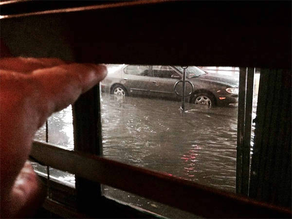 """<div class=""""meta image-caption""""><div class=""""origin-logo origin-image none""""><span>none</span></div><span class=""""caption-text"""">ABC7 viewer Tony Pinizzotto shared this photo on Twitter of the street flooding in Hollwood. (KABC Photo/Tony Pinizzotto)</span></div>"""