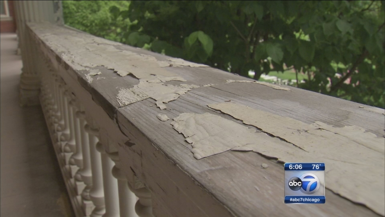 Governor?s mansion is in disrepair